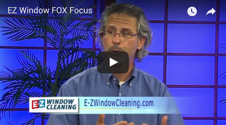 E-Z Window Cleaning Jason York on Fox 6 Focus