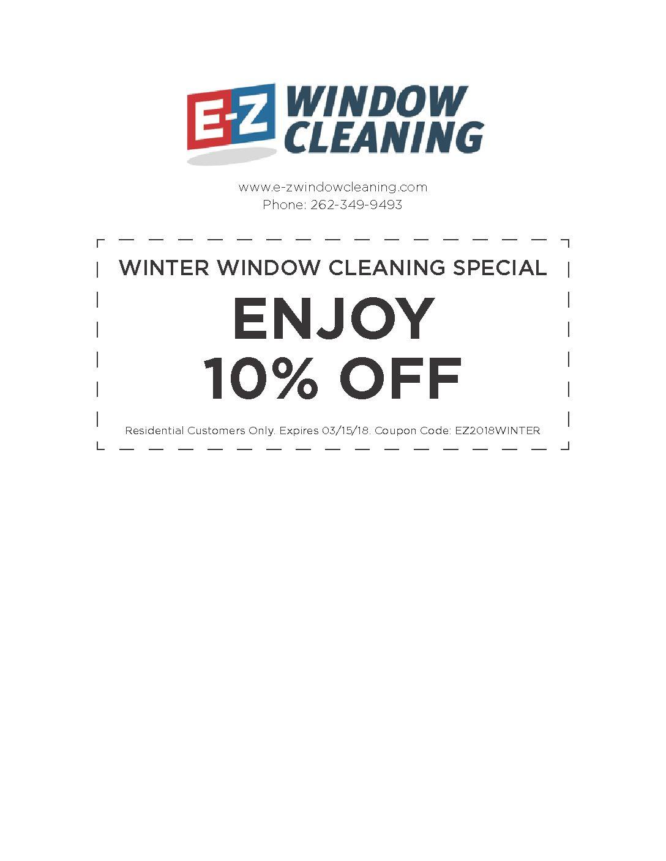 ez window cleaning window washing ezwindowcleaningwintercoupon ez window cleaning