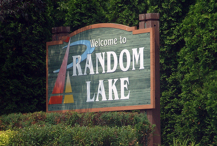 Welcome to Random Lake Sign
