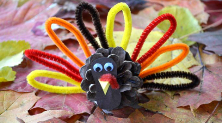 Thanksgiving Day Craft for the Kids Table