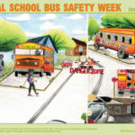 National School bus Safety week poster